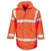 Result Safe-Guard Motorway Coat Hi-Vis Orange