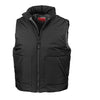 Result R44X Fleece Lined Bodywarmer Black