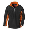 Result R86X Tech3 2-Layer Bonded Microfleece Black / Orange