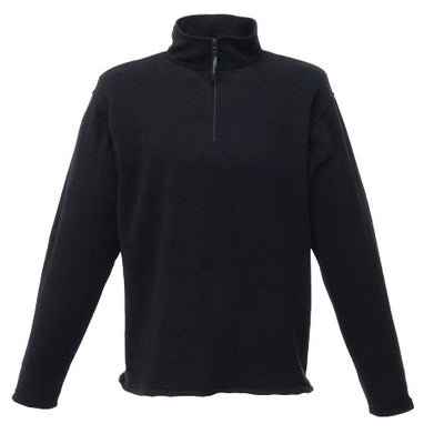 Regatta Professional Micro Zip Neck Fleece Black