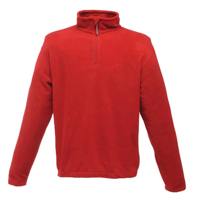 Regatta Professional Micro Zip Neck Fleece Classic Red