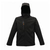 Regatta Xpro Repeller Lined Hooded Softshell Black