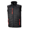 Result Bodywarmer Jacket Black & Red R238X