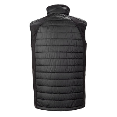 Result Compass Men's Padded Softshell Bodywarmer