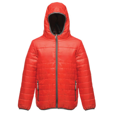 Red Children's Thermal Jacket TRA454 Regatta