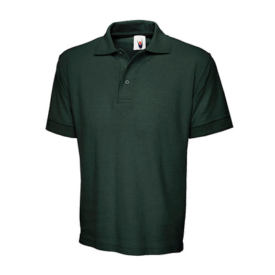 Uneek UC104 Ultimate Cotton Polo Shirt Bottle Green