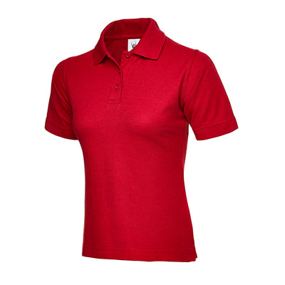 Uneek UC106 Ladies Polo Shirt Red