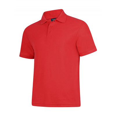 Uneek UC108 Deluxe Polo Shirt Red
