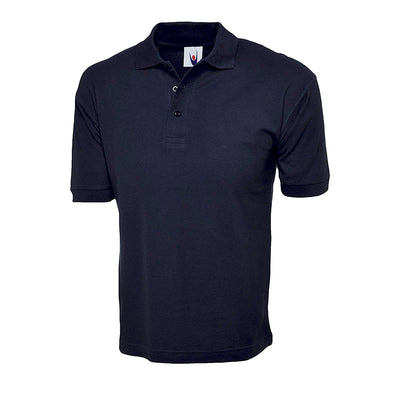 Uneek UC112 Cotton Rich Polo Shirt Navy