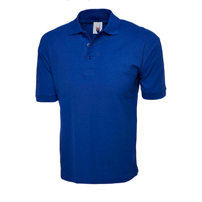 Uneek UC112 Cotton Rich Polo Shirt Royal