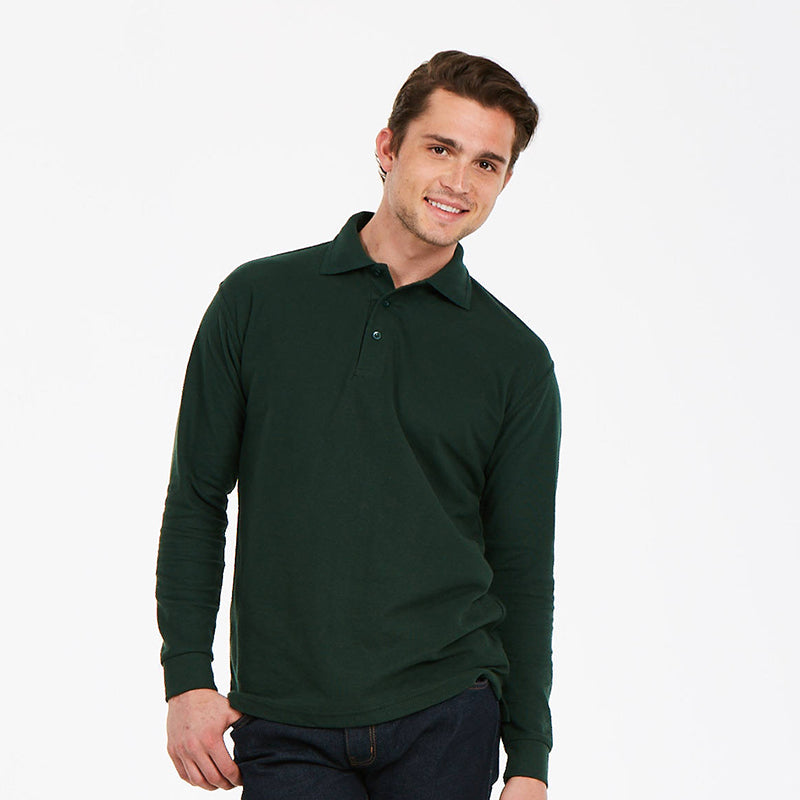 Uneek UC113 Longsleeve Polo Shirt