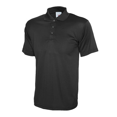 Uneek UC121 Processable Polo Shirt Black