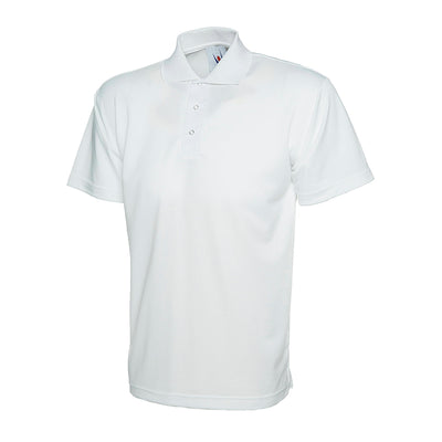 Uneek UC121 Processable Polo Shirt White