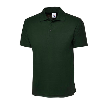 Uneek UC124 Olympic Polo Shirt Bottle Green