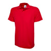 Uneek UC124 Olympic Polo Shirt Red