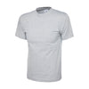 Uneek UC301 Classic T-Shirt Heather Grey