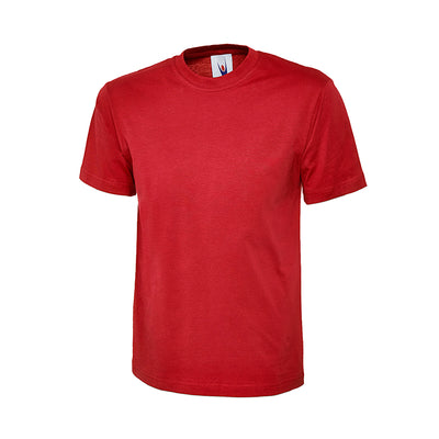 Uneek UC301 Classic T-Shirt Red