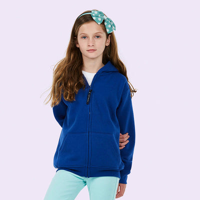 Uneek UC506 Childrens Classic Full Zip Hooded Sweatshirt