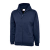 Uneek UC506 Childrens Classic Full Zip Hooded Sweatshirt Navy