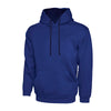 Uneek UC507 Contrast Hooded Sweatshirt Royal / Navy