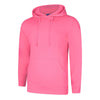 Uneek UC509 Deluxe Hooded Sweatshirt Candy Floss