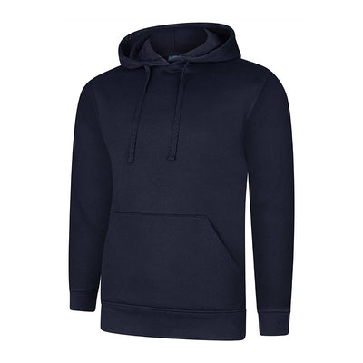 Uneek UC509 Deluxe Hooded Sweatshirt Navy