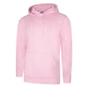 Uneek UC509 Deluxe Hooded Sweatshirt Pink