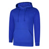 Uneek UC509 Deluxe Hooded Sweatshirt Royal
