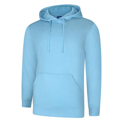 Uneek UC509 Deluxe Hooded Sweatshirt Sky