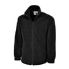 Uneek UC601 Premium Full Zip Micro Fleece Jacket Black