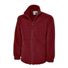 Uneek UC601 Premium Full Zip Micro Fleece Jacket Maroon