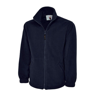 Uneek UC601 Premium Full Zip Micro Fleece Jacket Navy