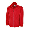 Uneek UC601 Premium Full Zip Micro Fleece Jacket Red