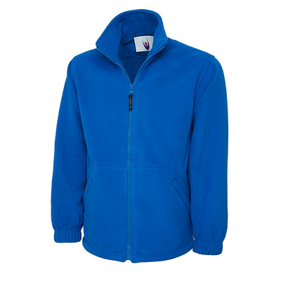 Uneek UC601 Premium Full Zip Micro Fleece Jacket Royal