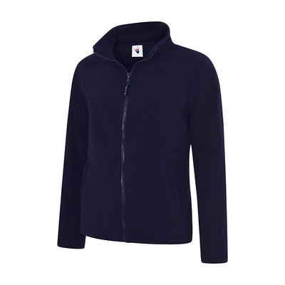 Uneek UC608 Ladies Classic Full Zip Fleece Jacket Navy