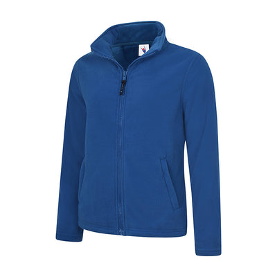 Uneek UC608 Ladies Classic Full Zip Fleece Jacket Royal