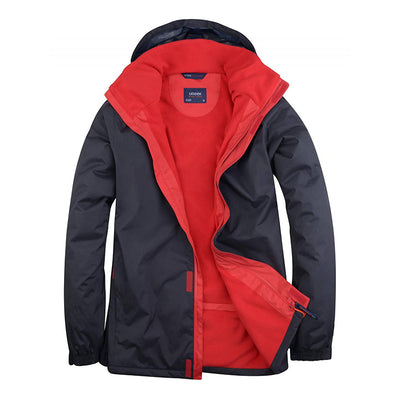 Uneek UC621 Deluxe Outdoor Jacket Navy / Red