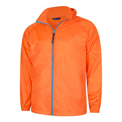 Uneek UC630 Active Jacket Fiery Orange / Surf Blue