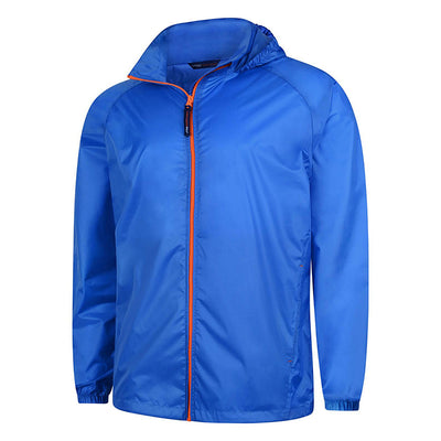 Uneek UC630 Active Jacket Oxford Blue / Orange