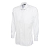 Uneek UC709 Mens Poplin Full Sleeve Shirt White