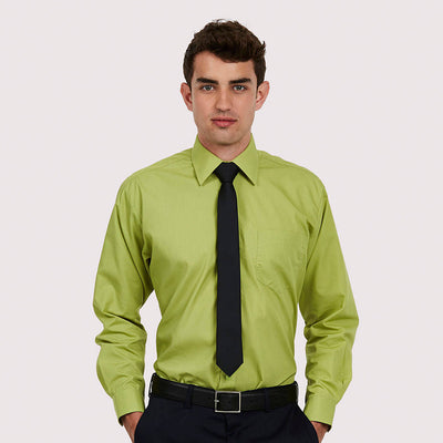 Uneek UC709 Mens Poplin Full Sleeve Shirt