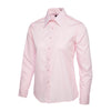 Uneek UC711 Ladies Poplin Full Sleeve Shirt Pink