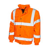 Uneek UC804 High Visibility Bomber Jacket Hi-Vis Orange