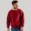 Ultimate 50/50 Set In Men's Work Sweatshirt Burgundy