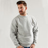 Ultimate 50/50 Heavyweight Set In Men's Work Sweatshirt Heather Grey
