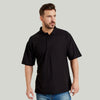Ultimate 50/50 Pique Mens Work Polo Shirt Black