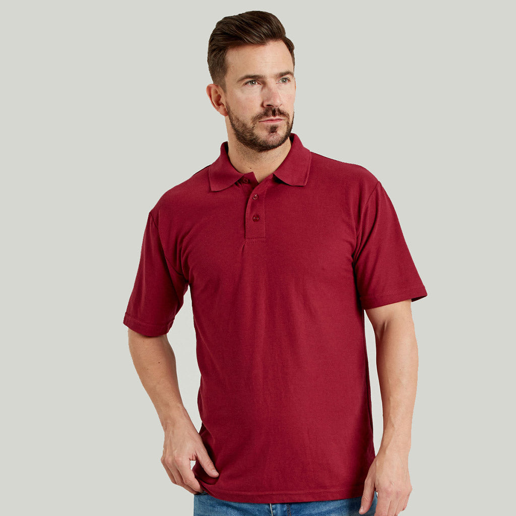 Ultimate 50 50 Pique Mens Work Polo Shirt Ucc003 Pws