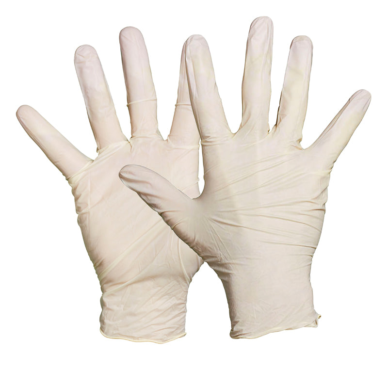 Blackrock Box Of 100 Non-sterile Latex Disposable Gloves