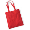 Westford Mill W101 Bag for Life Long Handles Bright Red