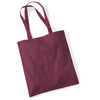 Westford Mill W101 Bag for Life Long Handles Burgundy